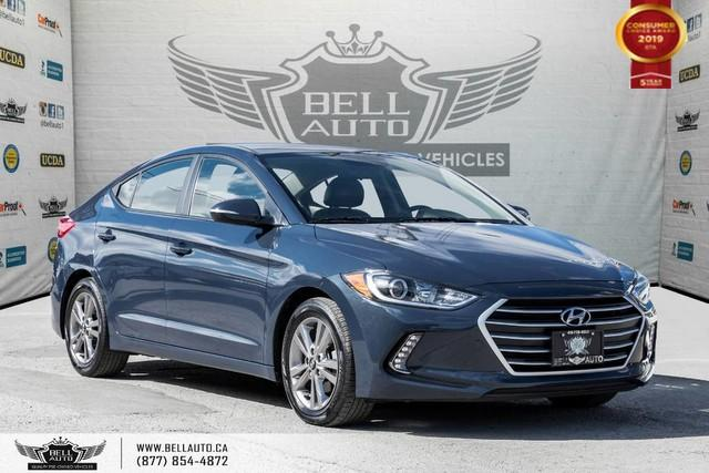 2017 Hyundai Elantra GL, NO ACCIDENT, BACK-UP CAM, BLINDSPOT, LEATHER