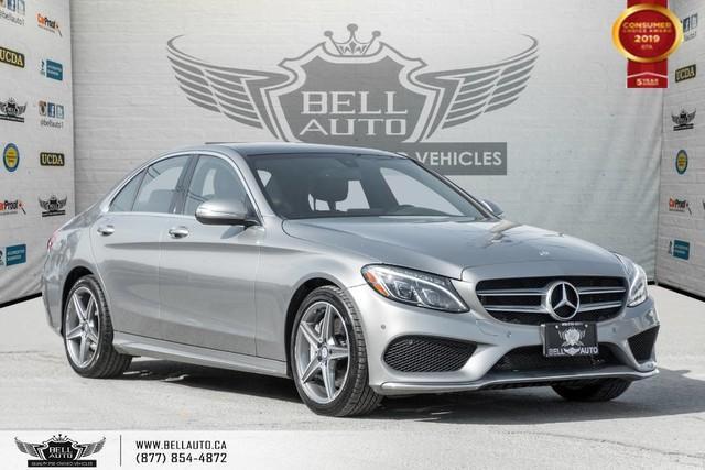 2015 Mercedes-Benz C-Class C 300, NO ACCIDENT, AWD, NAVI, BACK-UP CAM, SENSORS