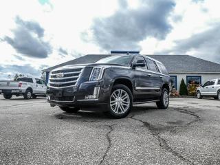 Used 2018 Cadillac Escalade - LOADED- LEATHER- NAVIGATION- 360 CAMERA- HEATED SEATS for sale in Essex, ON