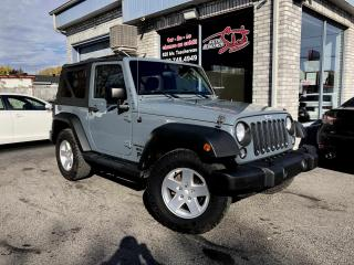 Used 2015 Jeep Wrangler Sport 4X4 for sale in Longueuil, QC