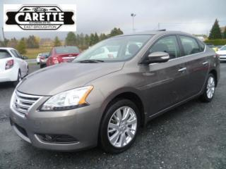 Used 2015 Nissan Sentra Sl Cuir-Toit for sale in East broughton, QC