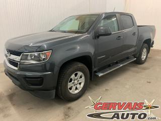 Used 2017 Chevrolet Colorado Crew Cab MAGS Marche Pieds Caméra for sale in Trois-Rivières, QC