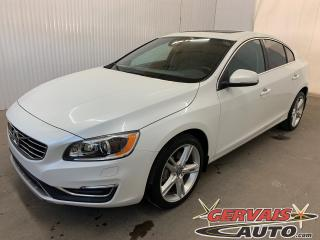 Used 2016 Volvo S60 T5 Special Edition Premier AWD Mags Cuir Toit ouvrant for sale in Shawinigan, QC