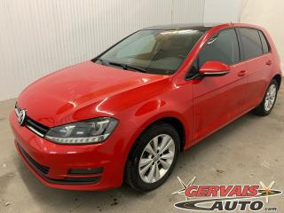 Used 2017 Volkswagen Golf Comfortline Tsi Cuir Toit Ouvrant MAGS Caméra for sale in Shawinigan, QC