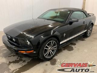 Used 2006 Ford Mustang Convertible V6 Cuir MAGS *Bas Kilométrage* for sale in Shawinigan, QC