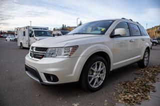 Used 2013 Dodge Journey R/T AWD, Garmin Navigation System, UConnect, Rear Seat Video Pack, Heated Seats, Heated Steering Wheel for sale in Okotoks, AB