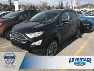 Used 2019 Ford EcoSport Titanium Leather Seats - Voice-Activated Navigation for sale in Calgary, AB