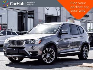 Used 2017 BMW X3 xDrive35i Harman Kardon Panoramic Sunroof Navigation Memory Seat Blind Spot for sale in Thornhill, ON