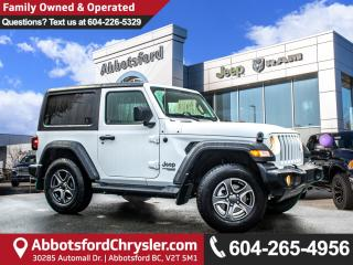 Used 2018 Jeep Wrangler Sport *ACCIDENT FREE* *LOCALLY DRIVEN* for sale in Abbotsford, BC