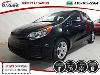 Used 2016 Kia Rio5 LX+* AT* A/C* GROUPE ELECTRIQUE* MAGS* for sale in Québec, QC