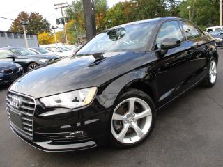 Used 2015 Audi A3 1.8T KOMFORT|ONE OWNER|44,000KM|SUNROOF|LOW KM for sale in Burlington, ON