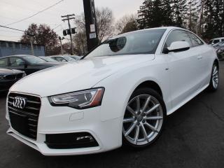 Used 2015 Audi A5 2.0T S-LINE|PROGRESSIV|NAVI|BACK-UP CAM|56,000KM for sale in Burlington, ON