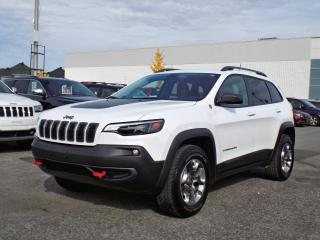 Used 2019 Jeep Cherokee TRAILHAWK 4X4 *APPLE CARPLAY* V6 * for sale in Brossard, QC