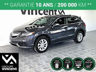 Used 2016 Acura RDX AWD ** GARANTIE 10 ANS ** Luxueux et logeable! for sale in Shawinigan, QC