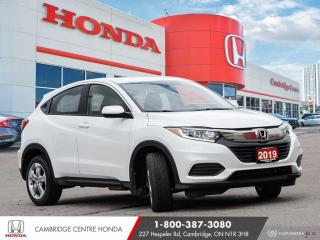 Used 2019 Honda HR-V LX APPLE CARPLAY™ & ANDROID AUTO™ | HONDA SENSING TECHNOLOGIES | REARVIEW CAMERA for sale in Cambridge, ON