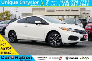 Used 2015 Honda Civic COUPE EX| LANEWATCH| HTD SEATS| REAR CAM| SUNROOF & MORE for sale in Burlington, ON