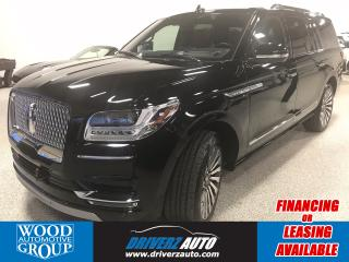Used 2018 Lincoln Navigator L Reserve ONE OWNER. THE LUXURY OF THE LUXURIES, FRONT 3 M FILMING.. for sale in Calgary, AB