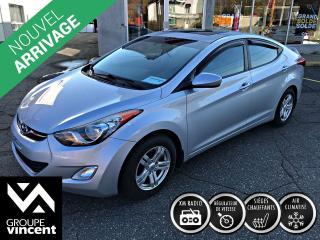 Used 2012 Hyundai Elantra GLS ** GARANTIE 10 ANS ** Élégante et sécuritaire! for sale in Shawinigan, QC