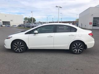 Used 2015 Honda Civic Touring Sunroof | Leather | CERTIFIED for sale in Waterloo, ON