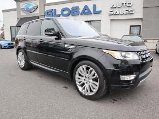 Used 2016 Land Rover Range Rover Sport DIESEL Td6 HSE for sale in Ottawa, ON