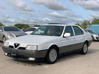 Used 1991 Alfa Romeo 164 L AS-IS | RUNS & DRIVES for sale in Bolton, ON