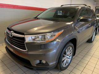 Used 2016 Toyota Highlander AWD 4DR XLE for sale in Terrebonne, QC