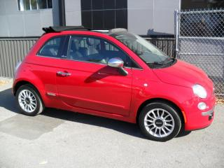 Used 2012 Fiat 500 Décapotable automatic + GARANTIE 3 ans i for sale in Laval, QC