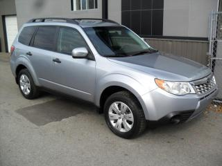 Used 2012 Subaru Forester 4x4 2.5X 5 vit ECONO * TRES FIABLE + GA for sale in Laval, QC