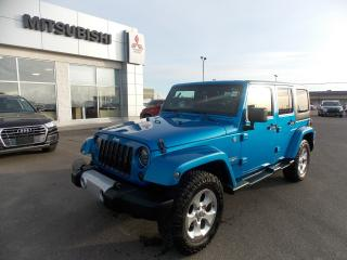 Used 2014 Jeep Wrangler Unlimited Sahara for sale in Lethbridge, AB