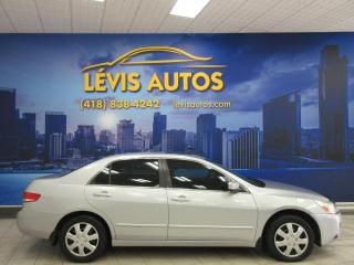 Used 2003 Honda Accord EX-L V6 AUTOMATIQUE CUIR TOIT OUVRANT BA for sale in Lévis, QC