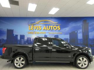 Used 2017 Ford F-150 LIMITED ÉDITION 3.5 ÉCOBOOST TOIT PANORA for sale in Lévis, QC