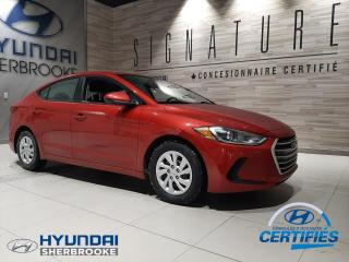 Used 2017 Hyundai Elantra LE+A/C+BANCS CHAUFF+BLEUTOOTH for sale in Sherbrooke, QC