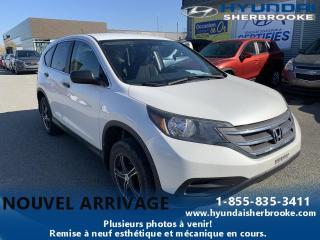 Used 2013 Honda CR-V LX AWD + CAM DE RECUL + SIÈGES CHAUFFANT for sale in Sherbrooke, QC
