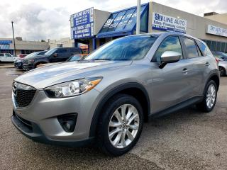 Used 2014 Mazda CX-5 GT AWD|NAVIGATION|CAMERA|SUNROOF|ALLOYS for sale in Concord, ON