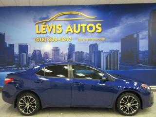 Used 2014 Toyota Corolla S AUTOMATIQUE MAGS TOIT OUVRANT BLUETOOT for sale in Lévis, QC