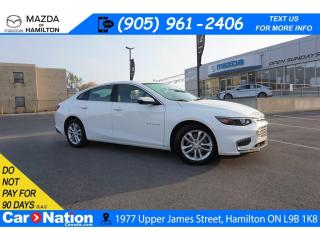 Used 2018 Chevrolet Malibu LT | REAR CAM | XM RADIO | ONSTAR | TOUCHSCREEN for sale in Hamilton, ON