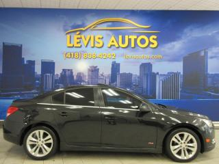 Used 2014 Chevrolet Cruze 2LT RS PACKAGE CUIR TOIT OUVRANT BEAU LO for sale in Lévis, QC