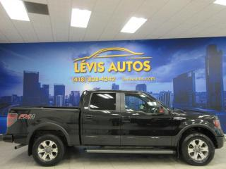Used 2012 Ford F-150 FX4 OFF-ROAD V-8 5.0 LITRES COYOTE CUIR for sale in Lévis, QC