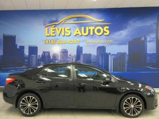 Used 2015 Toyota Corolla S SPORT GPS NAVIGATION CUIR TOIT OUVRANT for sale in Lévis, QC