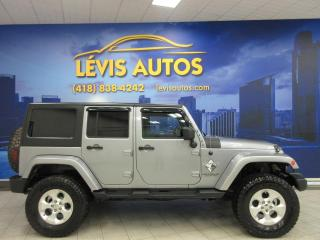 Used 2013 Jeep Wrangler SAHARA UNLIMITED AUTOMATIQUE 4X4 TRES BE for sale in Lévis, QC