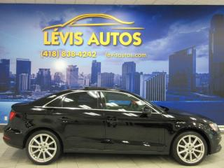 Used 2015 Audi A3 QUATTRO TOIT PANORAMIQUE CUIR CHAUFFANT for sale in Lévis, QC