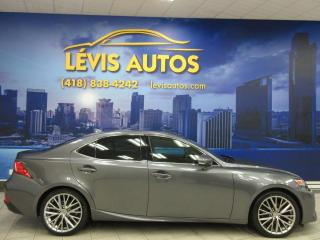 Used 2015 Lexus IS 250 AWD LUXURY PACKAGE CUIR TOIT OUVRANT SEU for sale in Lévis, QC