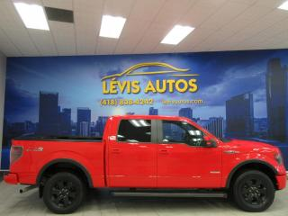 Used 2013 Ford F-150 FX4 OFF ROAD SUPERCREW GPS NAVIGATION CU for sale in Lévis, QC
