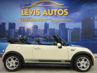 Used 2007 MINI Cooper S CONVERTIBLE 6 VITESSE MANUEL 96400 KM for sale in Lévis, QC
