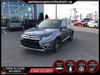 Used 2017 Mitsubishi Outlander GT S-AWC 7 PASS V6 CUIR for sale in St-Jérôme, QC