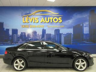 Used 2012 Audi A4 QUATTRO 2.0L TURBO MANUEL 6 VITESSES PRE for sale in Lévis, QC