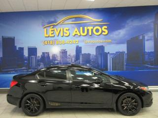 Used 2012 Honda Civic SI 4 PORTES MANUEL 6 VITESSES GPS TOIT O for sale in Lévis, QC