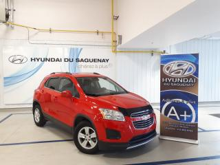 Used 2016 Chevrolet Trax LT/MAGS/CAMÉRA RECUL GARANTIE 2022 for sale in Jonquière, QC