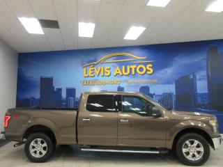 Used 2015 Ford F-150 XLT XTR 302A SUPERCREW CAB 53300KM V8 BO for sale in Lévis, QC
