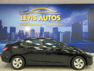 Used 2015 Honda Civic LX AUTOMATIQUE SIEGE CHAUFFANT BLUETHOOT for sale in Lévis, QC